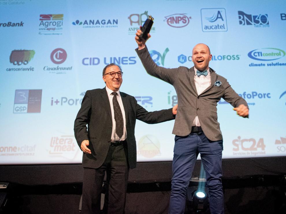 """La granja de Laguarres, gran triunfadora de la 26 edición de los premios Porc d""""Or"""