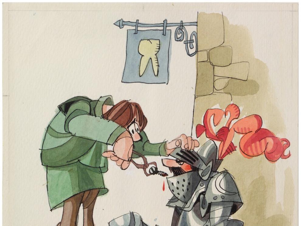 El Museo de Dibujo Julio Gavín hace un repaso por el humor gráfico español