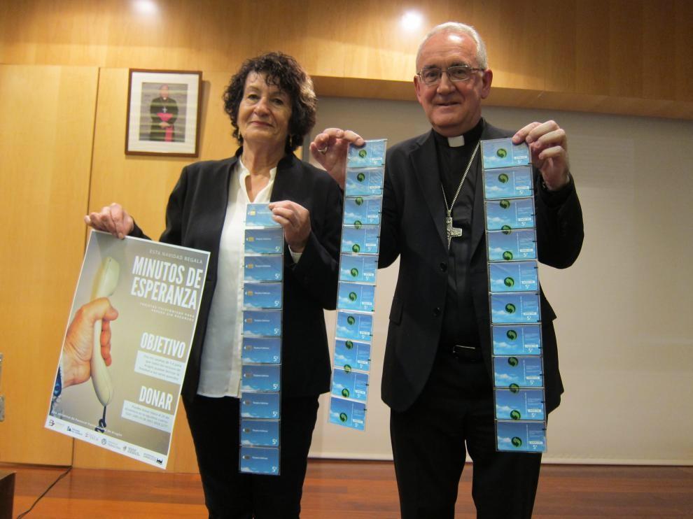 """La diócesis de Barbastro se suma a la tercera campaña """"Minutos de esperanza"""""""