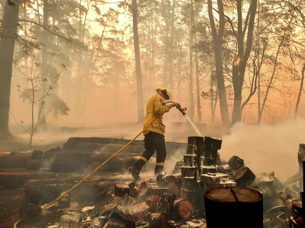 Los incendios de Australia cubren Sídney con un denso manto de humo