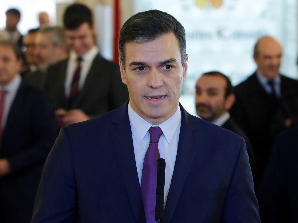 """Sánchez reivindica el pacto entre diferentes y promete una legislatura """"verde"""" de defensa del medio ambiente"""