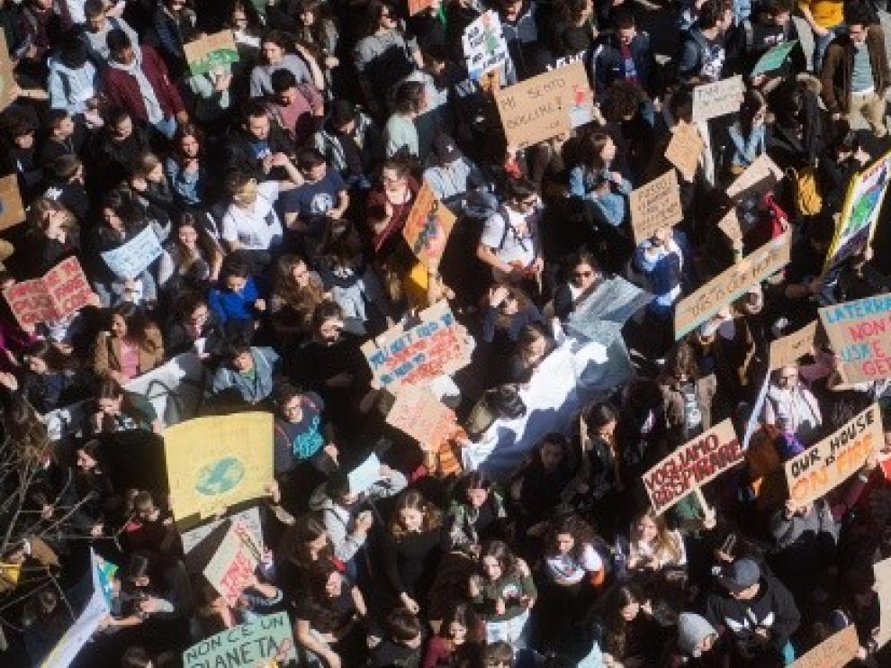 Los indígenas chilenos relegan a Greta Thunberg a un segundo plano en la Marcha por el Clima de Madrid