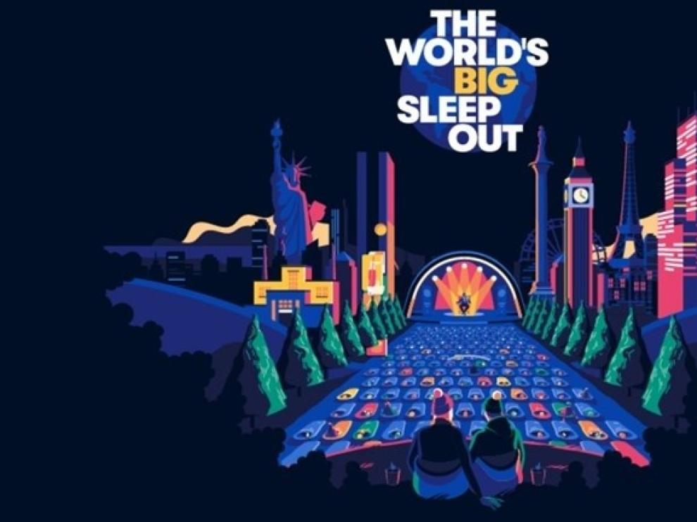 Más de 50 ciudades de todo el mundo se suman 'The World's Big Sleep Out' en apoyo a las personas sin hogar