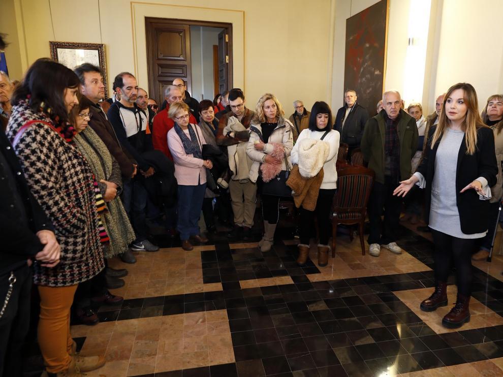 Un total de 1.680 ciudadanos han visitado el edificio Pignatelli en su jornada de puertas abiertas