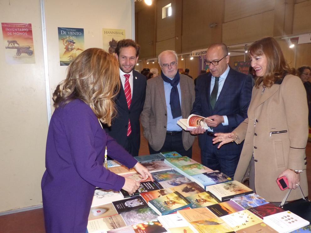 Más de un centenar de escritores y 33 editoriales, en el XXV Aniversario de la FLA de Monzón
