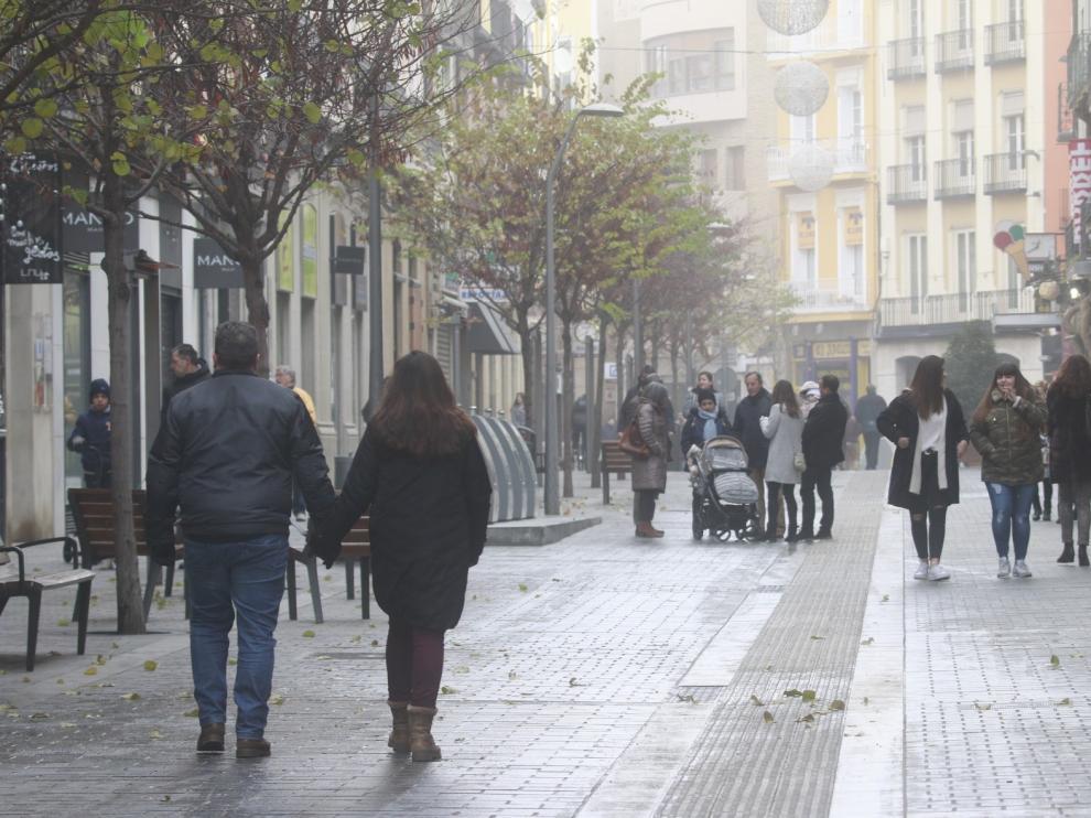 Acusadas bajadas de temperaturas en Huesca en el puente festivo