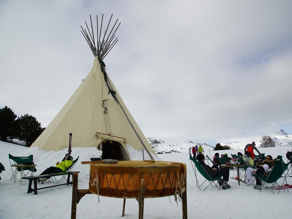 Relax en medio de la nieve en la estación de esquí de Formigal-Panticosa