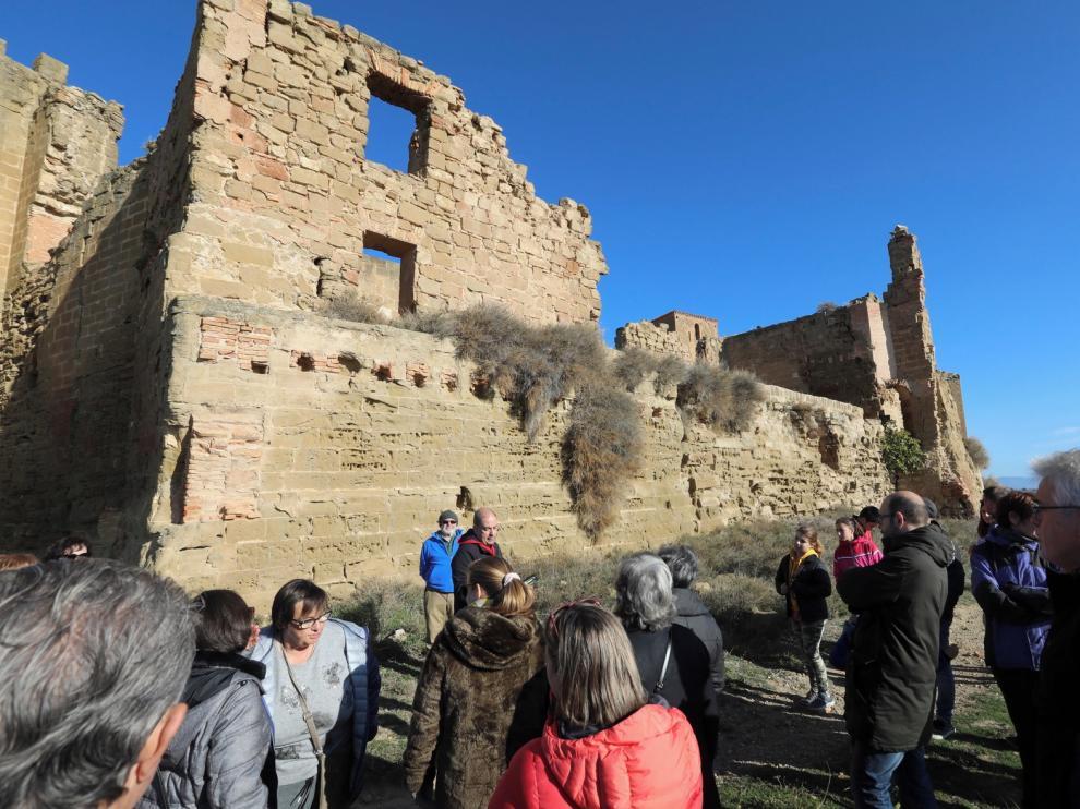 El Castillo de Montearagón da a conocer secretos como su iglesia y la cripta