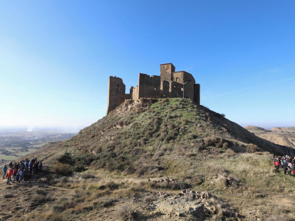 El Castillo de Montearagón se prepara para recuperar su estabilidad este 2020