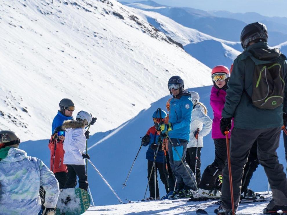 Aramón ofrece a los esquiadores más de 180 kilómetros de nieve fresca este fin de semana