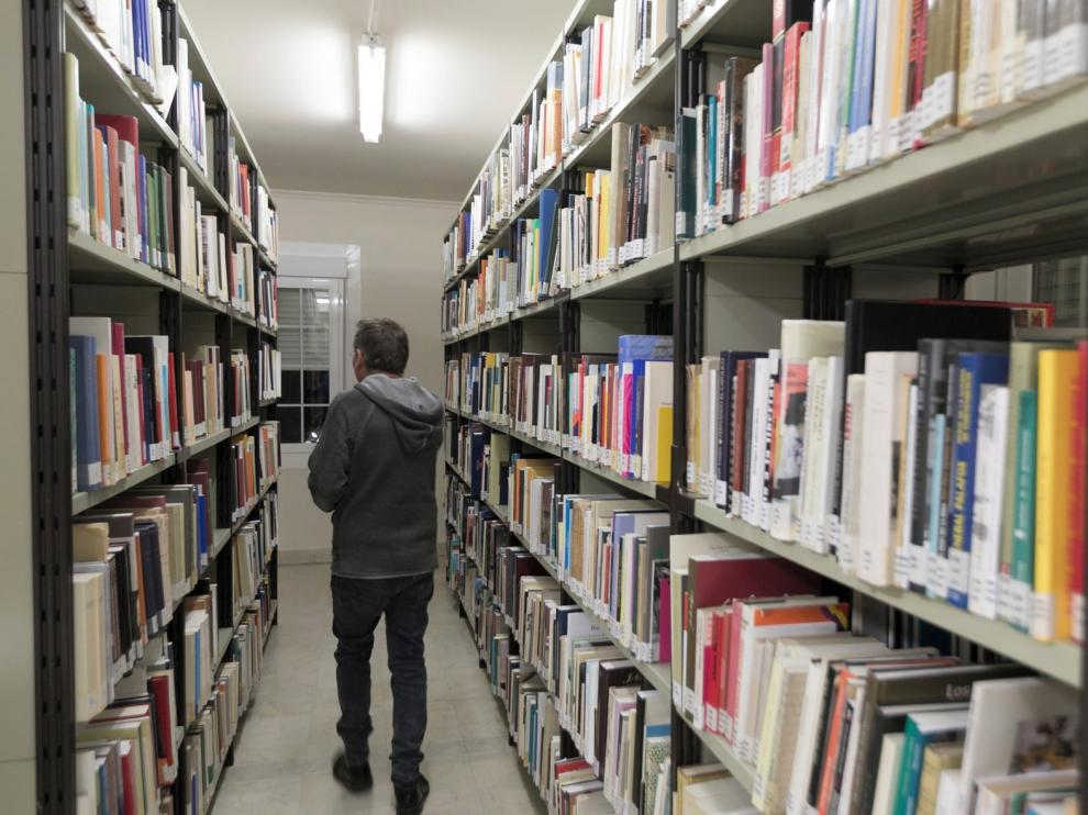 Las Bibliotecas Municipales de Huesca, en casa
