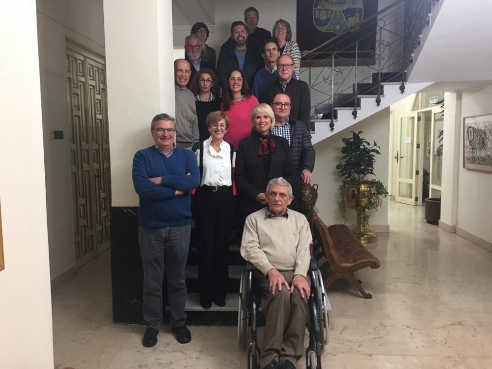 Dueñas, Gari y Sabio, tres defensores del Instituto de Estudios Altoaragoneses