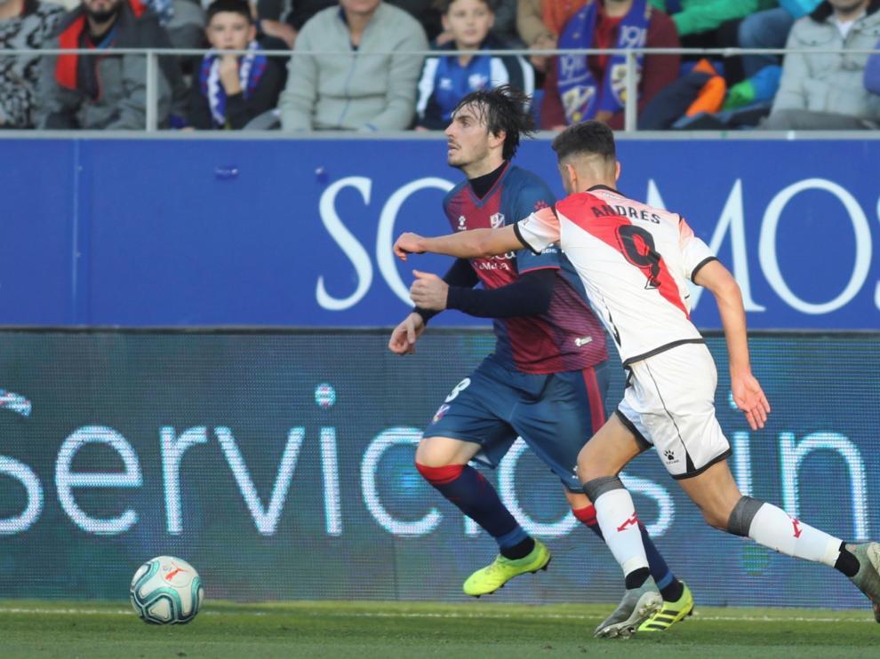 El Huesca se vio sometido por primera vez en El Alcoraz en esta temporada