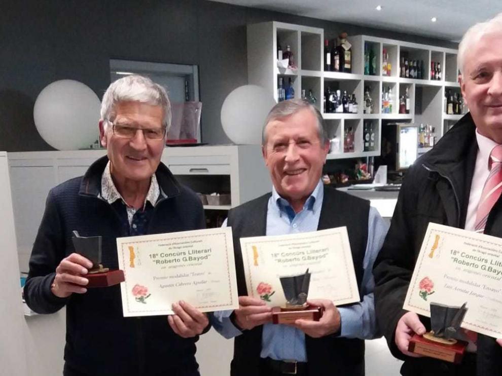 """El concurso """"Roberto G. Bayond"""" premia a Agustín Cabrera y Amado Forrolla"""
