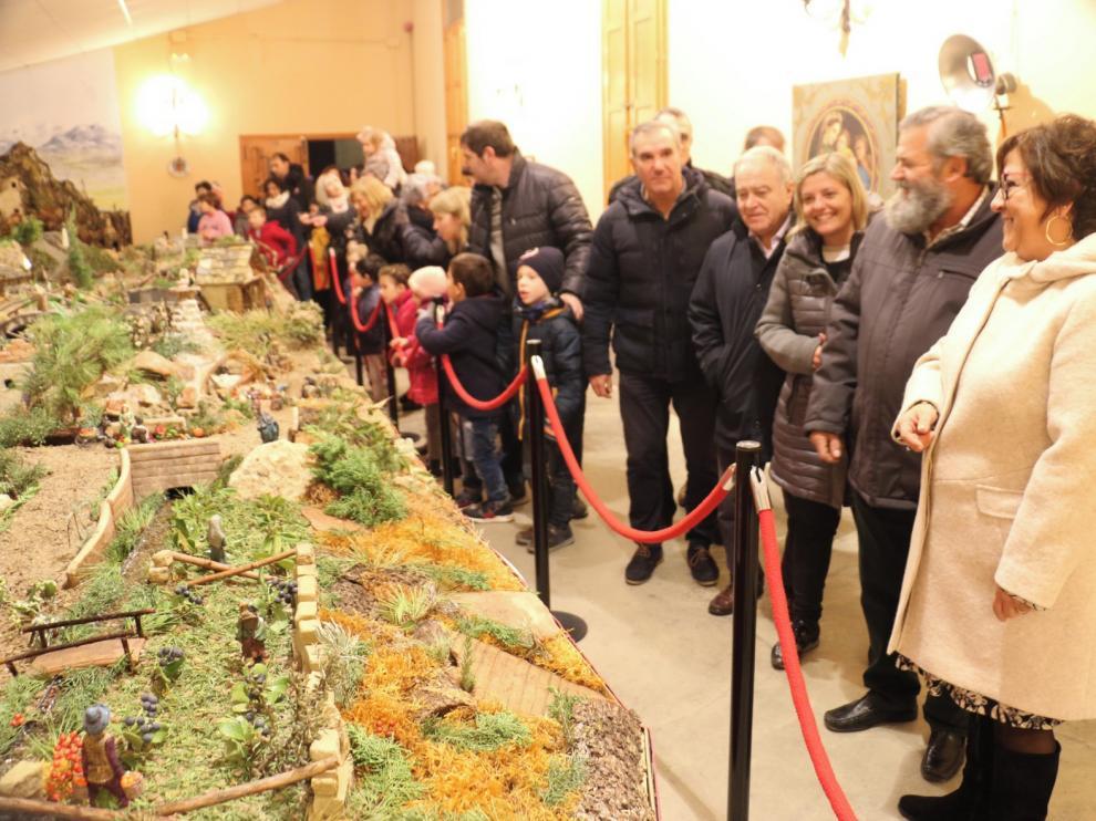 Pomar de Cinca inaugura un Belén con 400 figuras