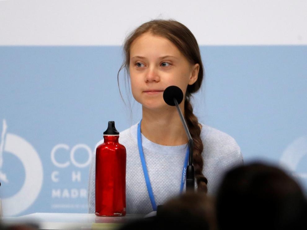 """Greta Thunberg: """"La emergencia climática no es un problema futuro, ya nos impacta"""""""