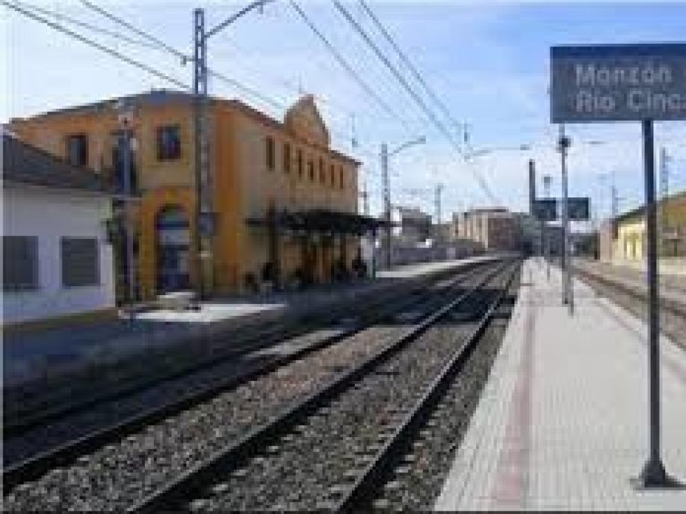 Cambiar Monzón agradece el apoyo a la estación de tren de la localidad