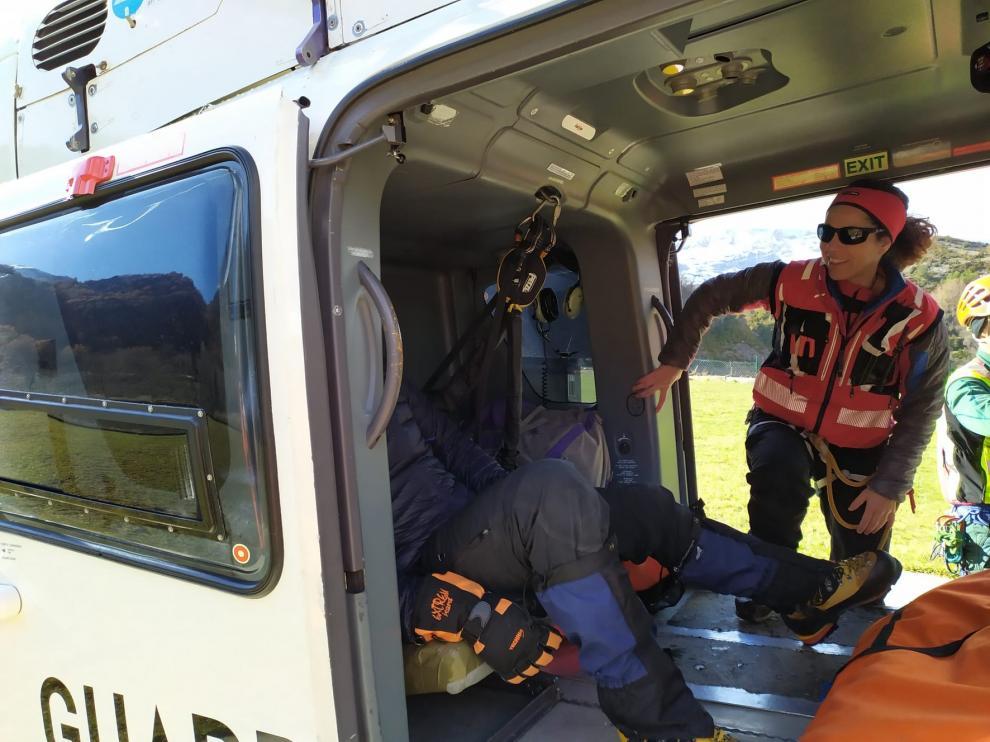 La Guardia Civil efectúa al menos cinco rescates este puente festivo