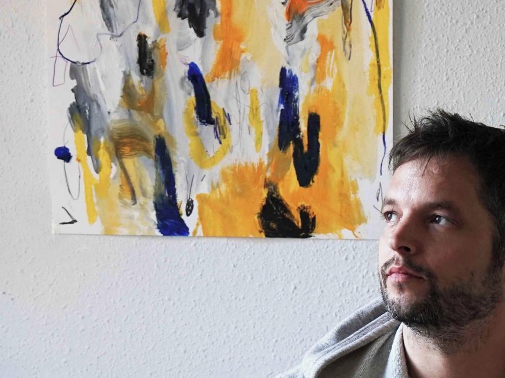 "Antonio Santafé trae a Huesca su pintura ""única e irrepetible"""