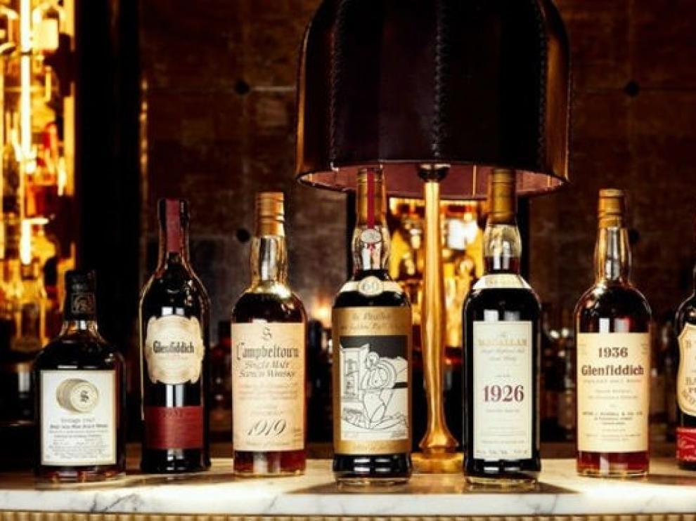 La mayor colección de whisky del mundo se subasta