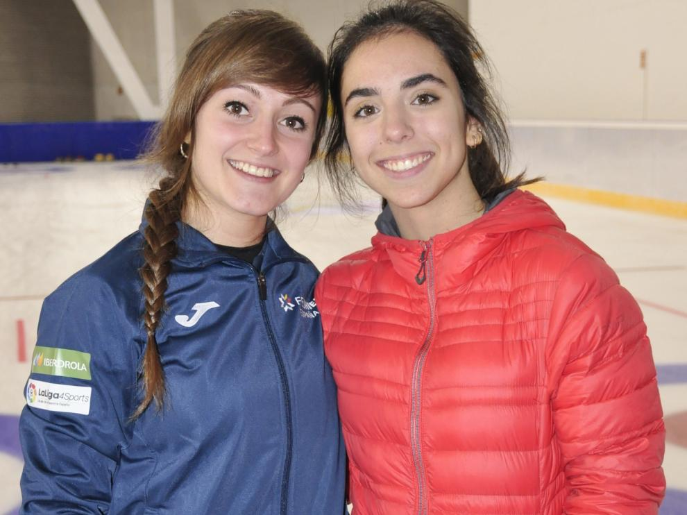 Carmen Pérez y Daniela García, rumbo al Mundial Júnior B de Curling