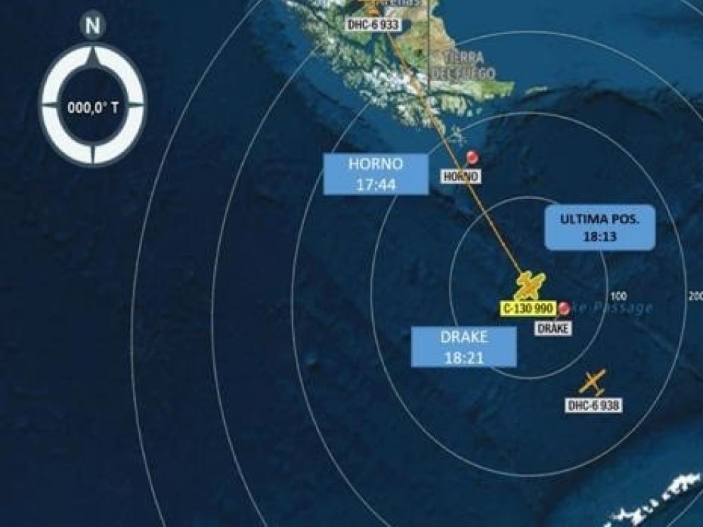 Desaparece un avión militar de Chile rumbo a la Antártida con 38 personas