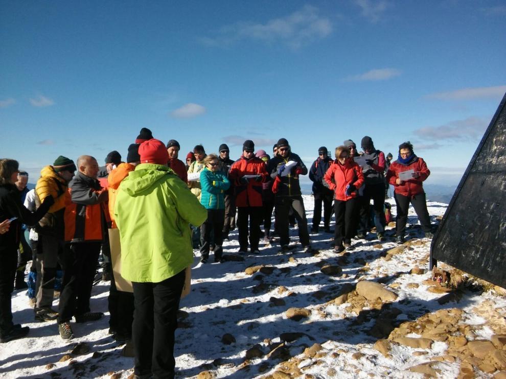 El Belén de Montañeros de Aragón de Barbastro celebra su 50 aniversario