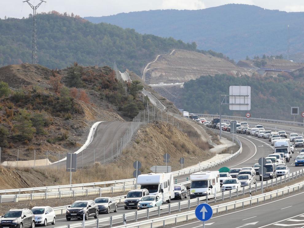 Exigen terminar de forma urgente los tramos pendientes de la autovía A-23 en Sabiñánigo y Jaca