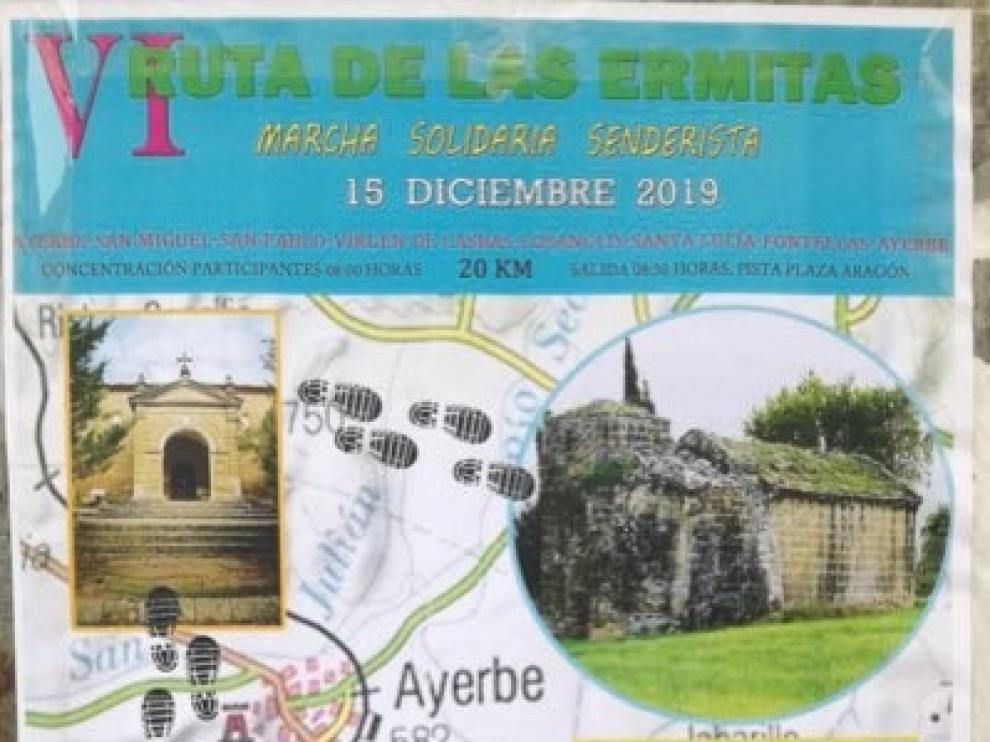 Apiac cierra su 30 aniversario con la tradicional Ruta de las Ermitas