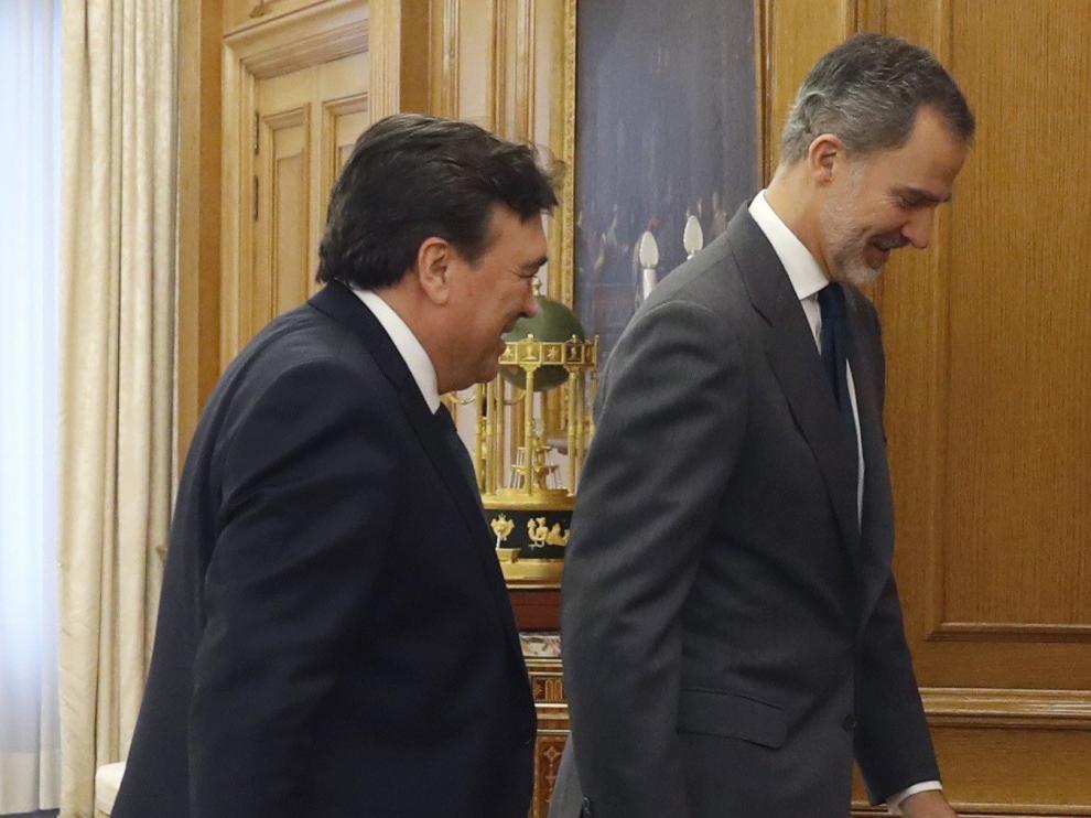"""Sólo los aliados del PP trasladan al Rey un """"no"""" rotundo a Sánchez"""