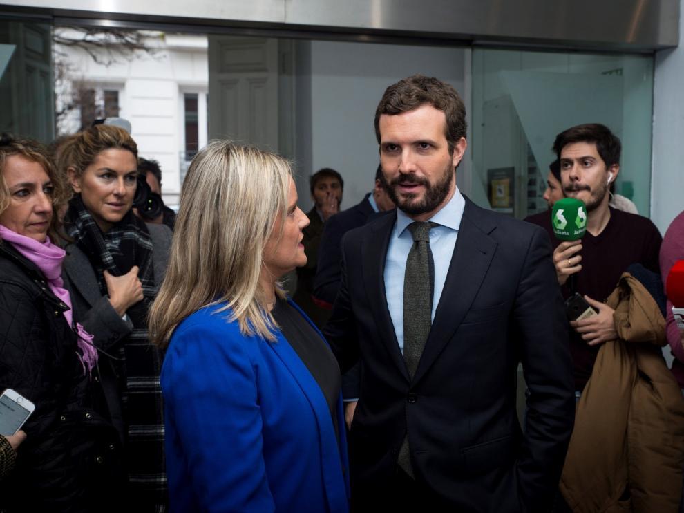 """Casado recuerda el atentado de Zaragoza y critica los homenajes a ETA """"humillando"""" a víctimas"""