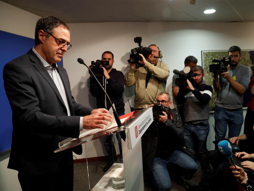 """Las cárceles catalanas proponen el segundo grado para los presos del """"procés"""""""