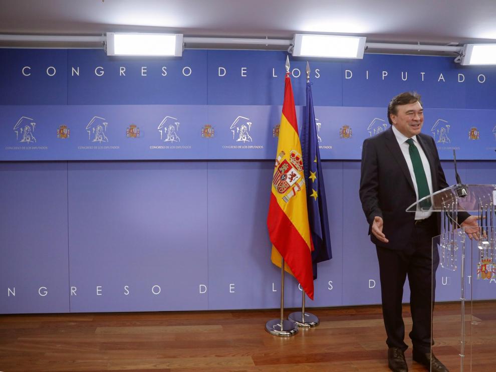 Registrado en el Congreso el grupo España Plural integrado por UPN, PRC, CC y Teruel Existe