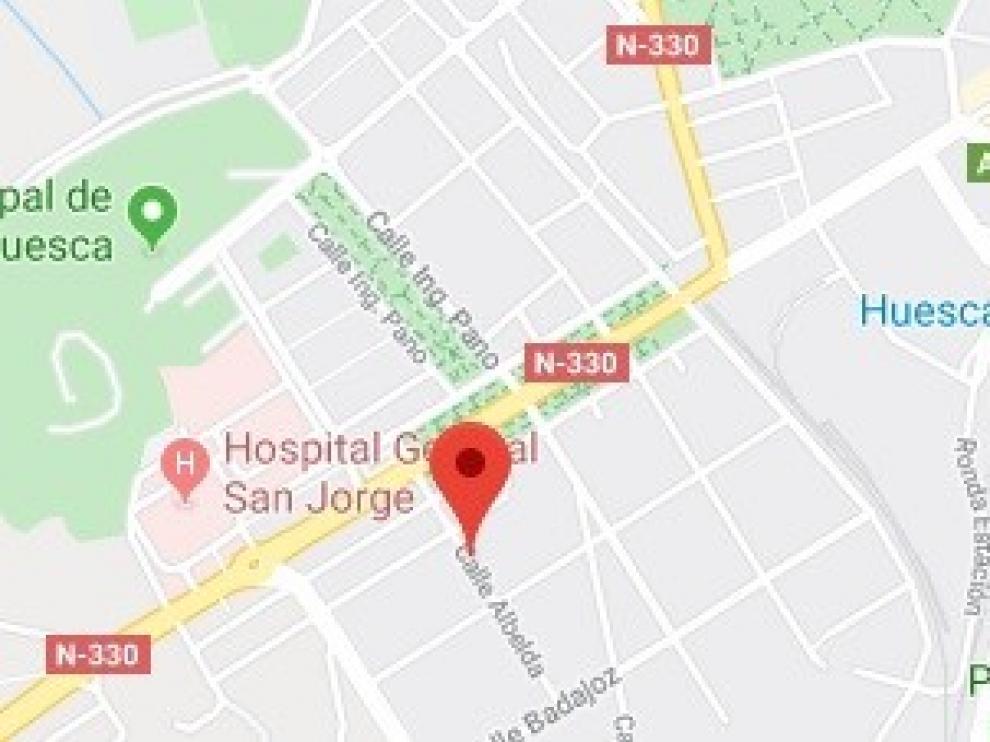 Atropellada una joven de 17 años en la avenida Martínez de Velasco de Huesca