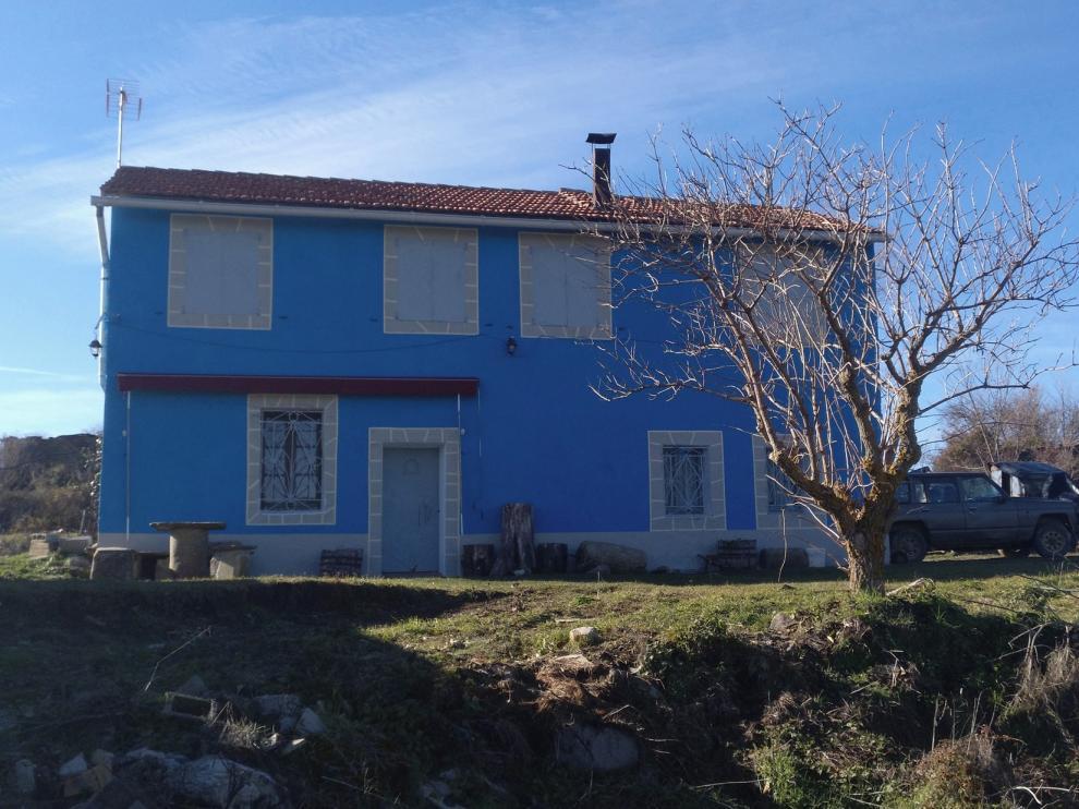 Una casa azul en Matidero