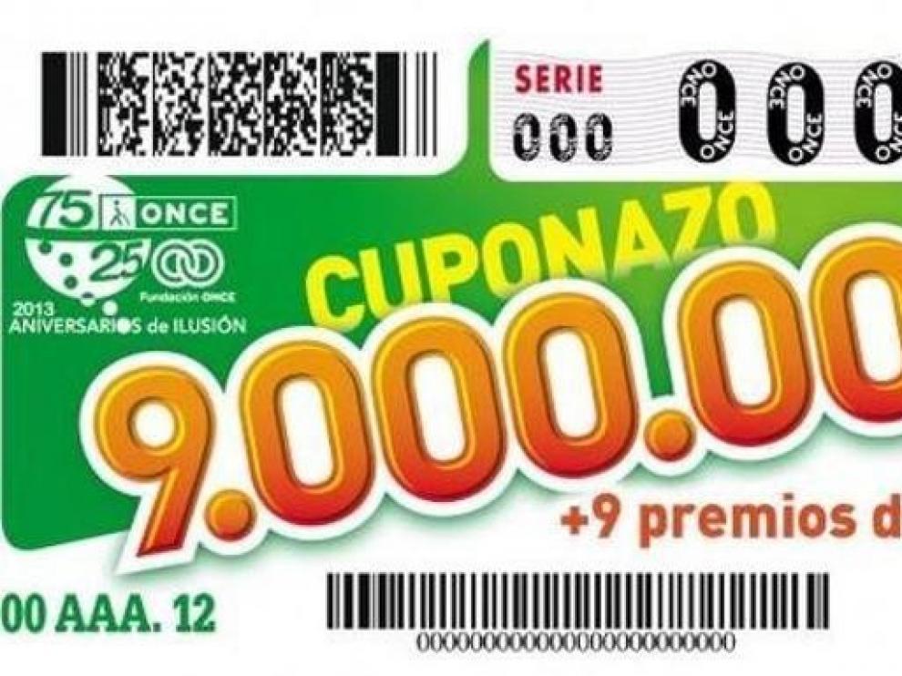 El Cuponazo de la ONCE deja en Calatayud un premio de 100.000 euros