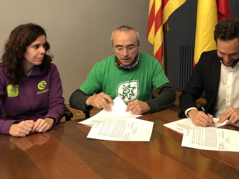 Ecologistas en Acción de Monzón continuará gestionando Pinzana
