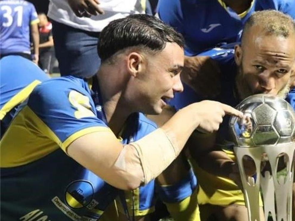 Pablo Gállego, campeón de Copa de Nicaragua con el Managua