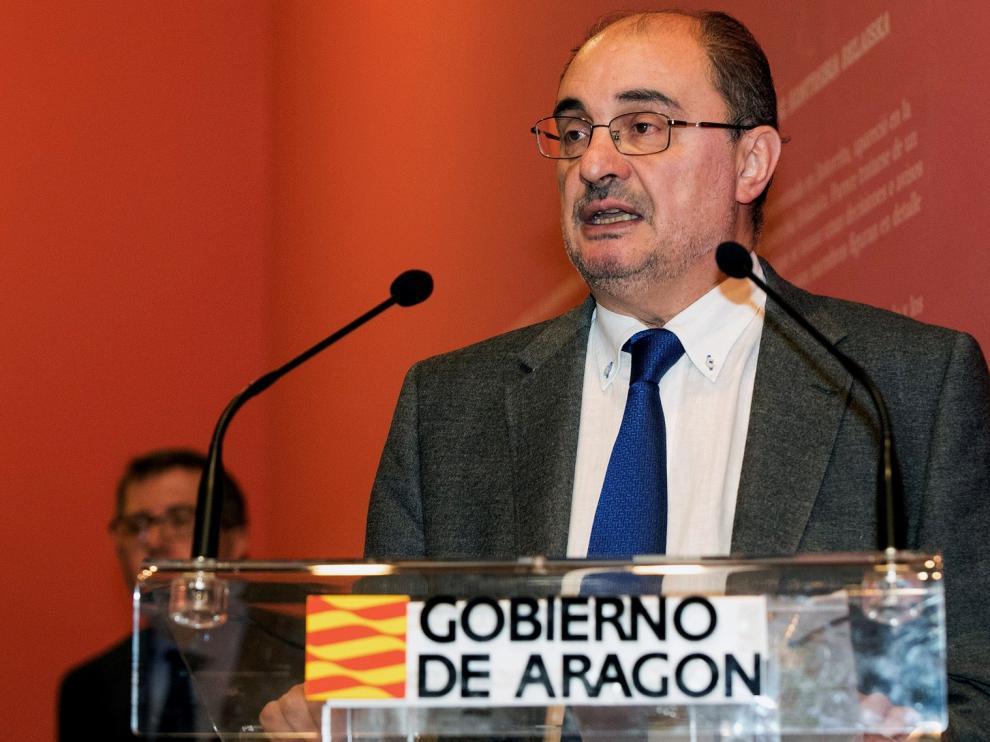 Lambán pide responsabilidad a PP y Cs para que el Gobierno no dependa de ERC