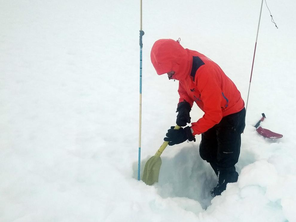 El Pirineo se encuentra en riesgo fuerte por avalanchas de nieve