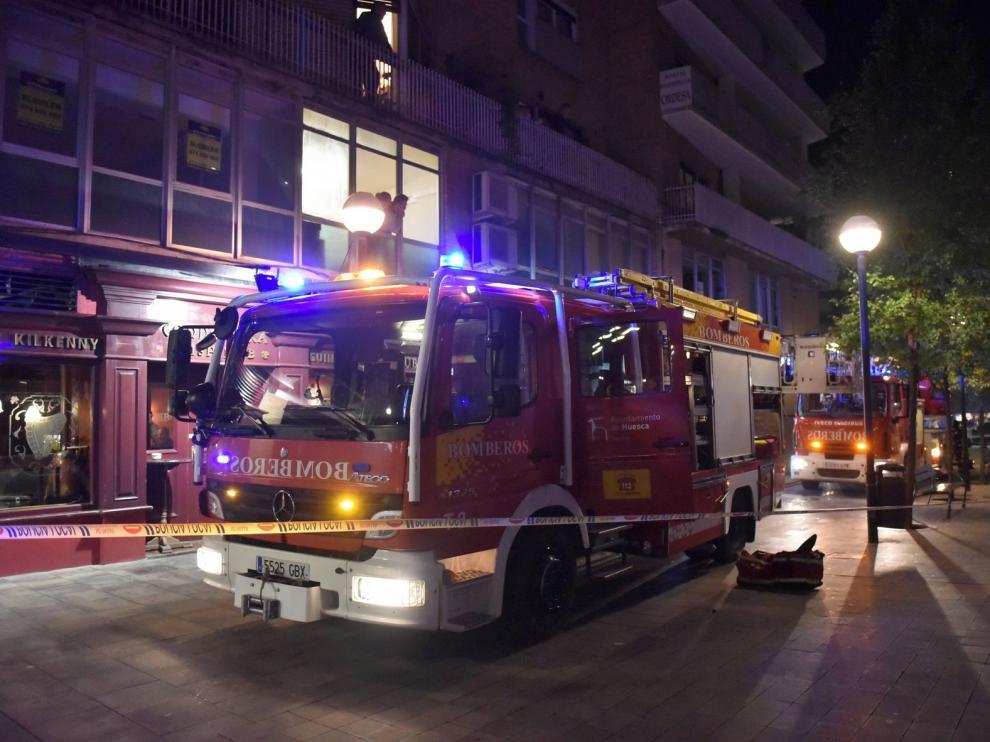 """El convenio para los bomberos del Parque de Huesca incluirá """"revisiones"""""""