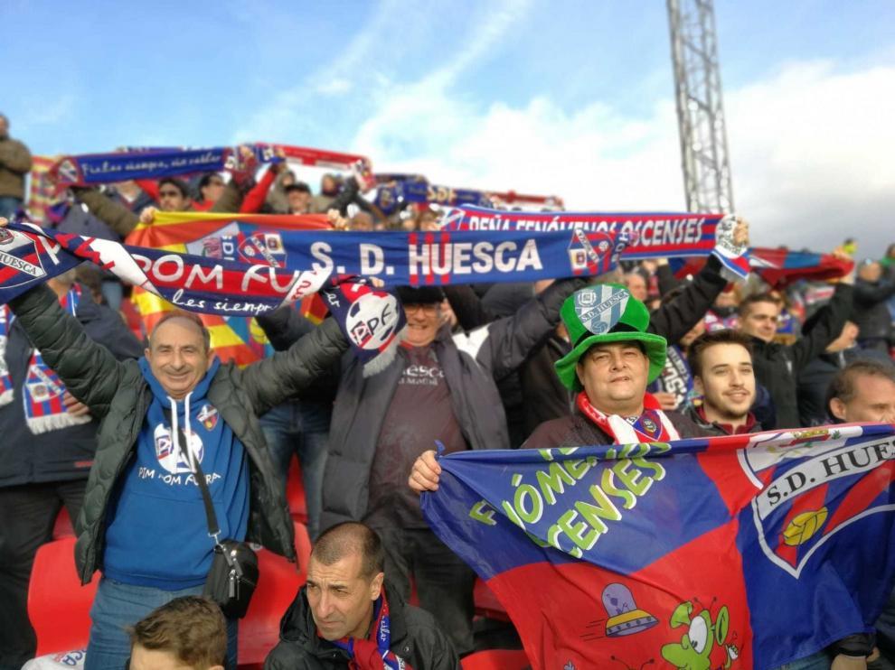 El VAR llegó con el partido entre el Huesca y el Mirandés empezado