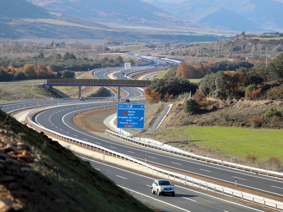 El año 2019 deja 31 nuevos kilómetros de autovías y otros 60 pendientes en la provincia de Huesca