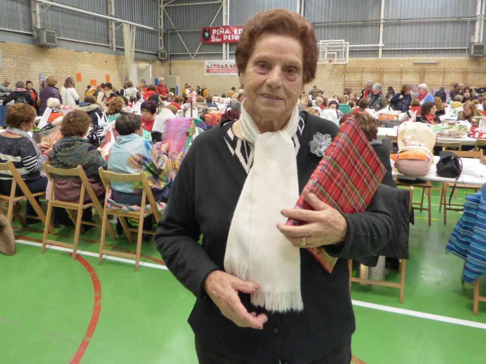 """Ángeles Ramón: """"Aprendí con 77 años sin haber visto un bolillo, pero le fui cogiendo gusto"""""""
