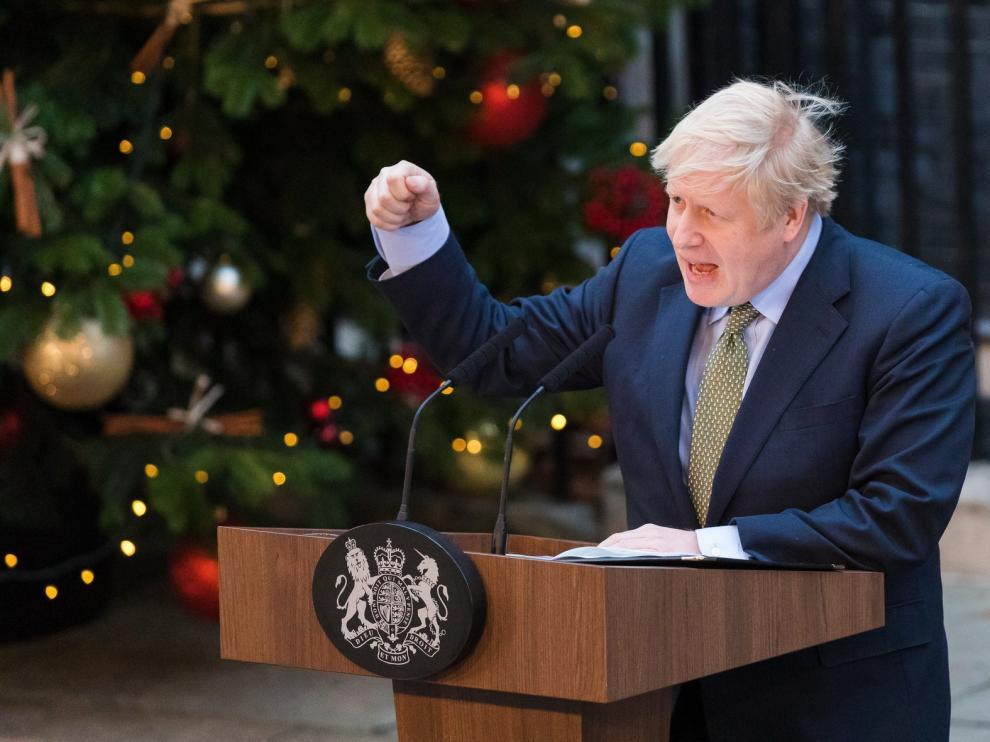 """El Gobierno británico presentará al Parlamento el viernes la ley del """"brexit"""""""