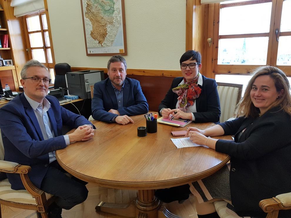 El Gobierno de Aragón y el Ayuntamiento de Jaca trabajarán de forma conjunta en materia de vivienda