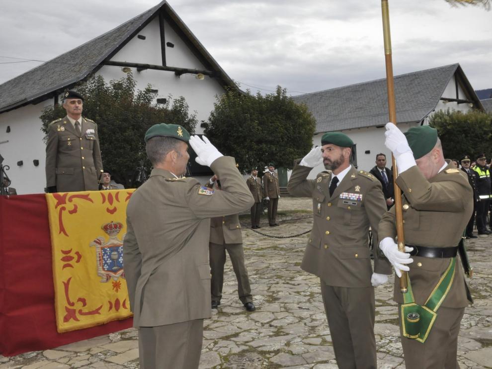 Francisco Javier Lucas de Soto, nuevo jefe del Galicia 64 de Jaca