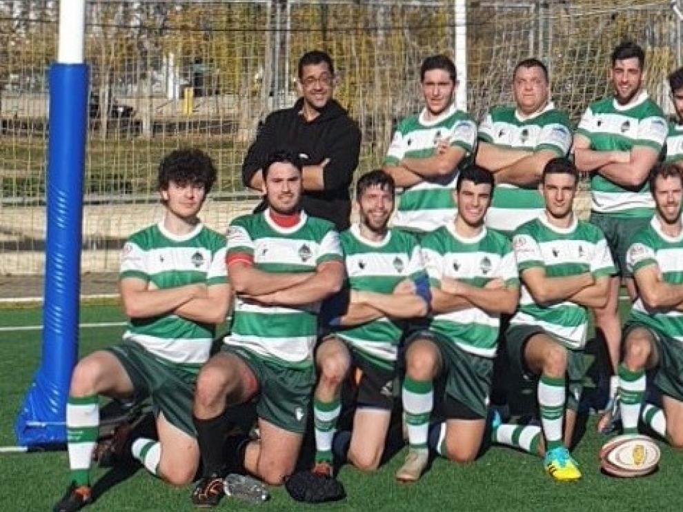 Huesca Rugby no baja los brazos ante el Fénix pese al abultado marcador