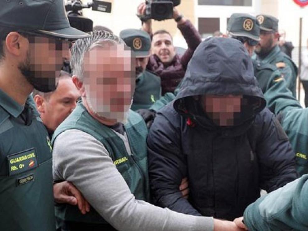 El detenido por el crimen de Marta Calvo asiste a otra inspección de su casa