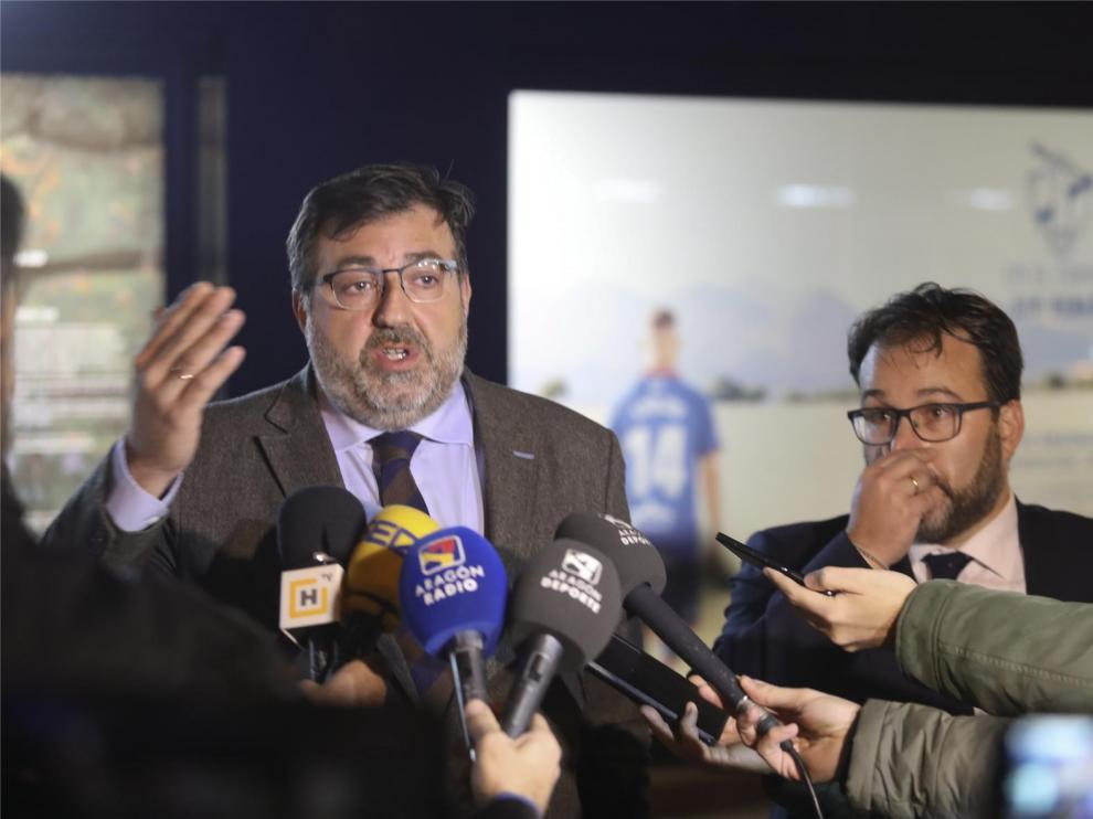 """El Huesca dice que los indicios que le implican en el caso Oikos son """"endebles"""" y se ofrecerá a declarar ante el juez"""